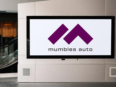 Mumbles Auto auto mumbles auto mumbles uk identity brand logo branding designer europe creative dweet design design