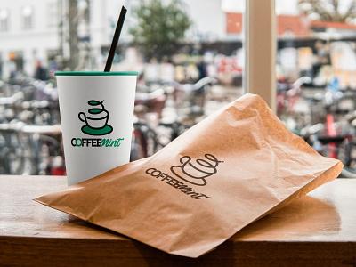 Coffee Mint london united kingdom cafe mint coffee coffee mint uk identity brand logo branding designer europe creative dweet design design