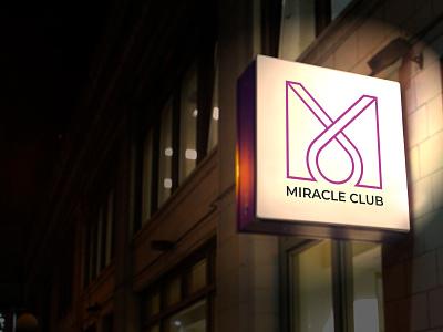 Miracle Club vip wales club miracle uk identity brand logo branding designer europe creative dweet design design