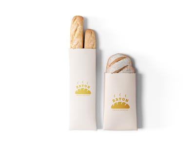 Baton Fresh Bakery bakery baton moscow russia identity brand logo branding designer europe creative dweet design design