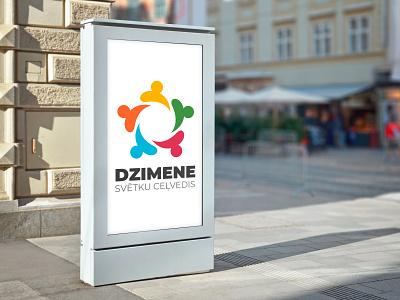 Dzemene riga identity brand logo branding designer europe creative dweet design design