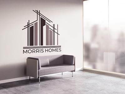 Morris Homes morris homes uk identity brand logo branding designer europe creative dweet design design