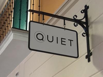 Quiet Tea Shop united kingdom london shop tea quiet branding logo dweet design
