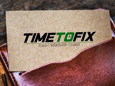 TimeToFix sevice repair mobile fix time brand logo branding illustration riga poster flyer europe mind inside dweet design designer design creative