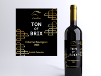 Ton Of Brix Wine Label