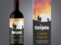 Quijote Wine Package Concepts