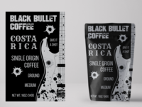 Black Bullet Coffee Label #1
