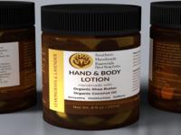 Lemongrass & Lavender Hand & Body Lotion - Jar