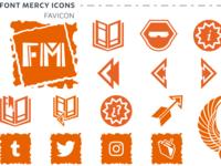 Find Mercy - Icon Set