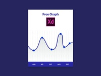Free Graph Adobe XD File
