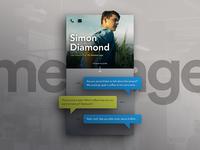 DailyUI #013: Direct Messaging