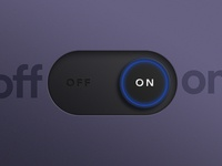 DailyUI #015: On/Off Switch