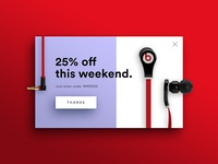 DailyUI #016: Pop-up/Overlay