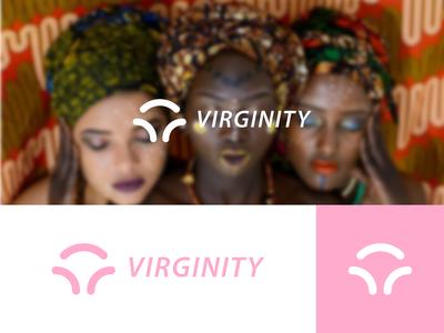 Virginity icons web vector ui ux negative space brand illustrator icon logo type typography minimal lettering identity character branding illustration flat design