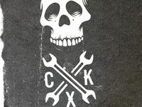 CXK skull