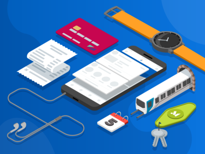 Workday Mobile Team Illustration