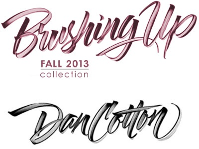 Brushing Up lettering exploration hand lettering lettering brush lettering brush script calligraphy