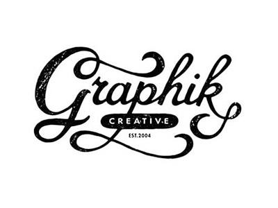 Graphik Creative - Vintage style logo hand lettering handlettering lettering vintage vintage lettering vintage style lettering logo vintage logo calligraphy