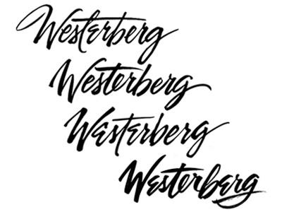 Hand lettering exploratory for logo  calligraphy brush lettering bush hand lettering lettering