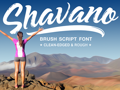 Shavano has arrived, available at finer typography stores. flowing bold organic lettering typography font