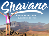 Shavano has arrived, available at finer typography stores.