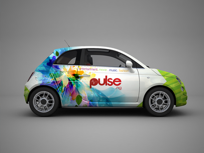 Car Branding for Pulse.ng car branding branding