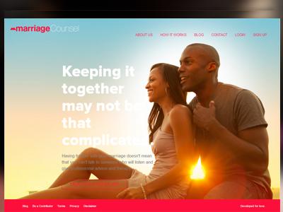 MarriageCounsel.ng flat-design ui