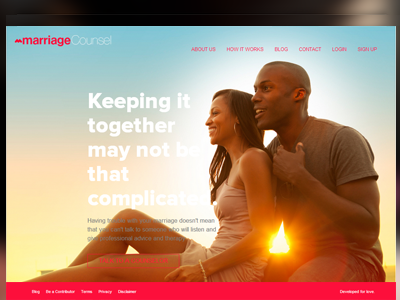 MarriageCounsel.ng flat-design ui