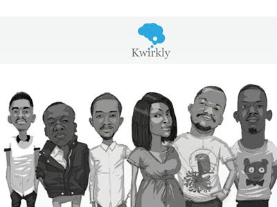 New Kwirkly Website kwirkly minimalist white kwirkly.com mobile