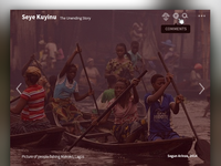 Albumarium v2 album gallery free images lagos nigeria seye kuyinu boat africa ui user interface design