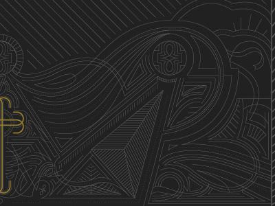 Book Cover Detail linework monoline bookdesign book bookcover