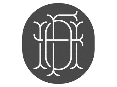 One Fine Home logo lettering custom type customtype type monogram branding brand identity logodesign logo