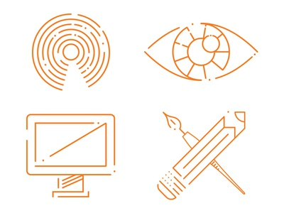 Website Icons iconography vector illustration
