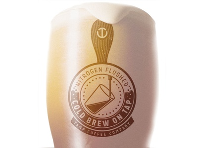 Tamp Coffee Co. Nitrogren Flushed Cold Brew on Tap cold brew coffee