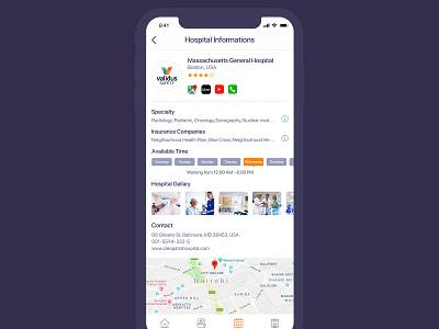 Care Passport App Presentation - Purple-4 appointment medical care patient medical design hospital healthcare doctor