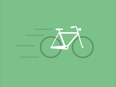 Bicycle icon illustration bike bicycle map simple