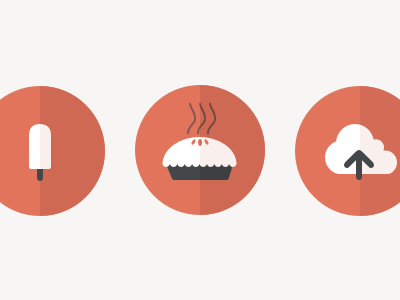 Food Icons food icons flat