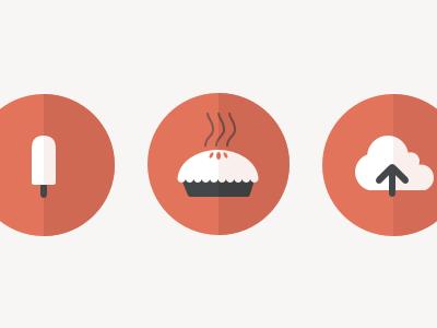 Food Icons food icons flat