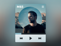 Minimalist music player