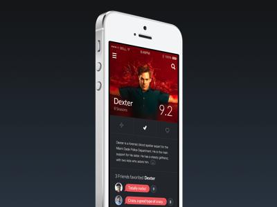 TVShows / Movie app tv show tvshow movie mobile app