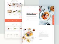 Delicious Food - Web UI