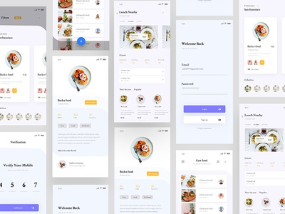 Food App Concept food website dashboard design  food mobile app food delivery app modern app design food app concept app app design web vector ux ui food app