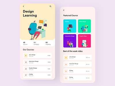 Design Learning App