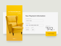 UI :: 002 - Card Checkout