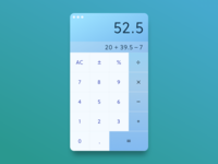 UI :: 004 - Calculator
