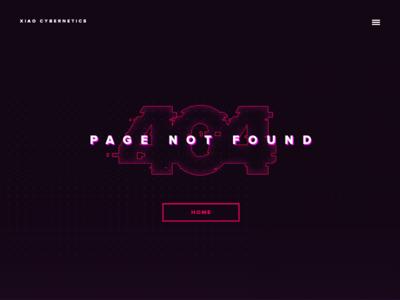 UI :: 008 - 404 Page
