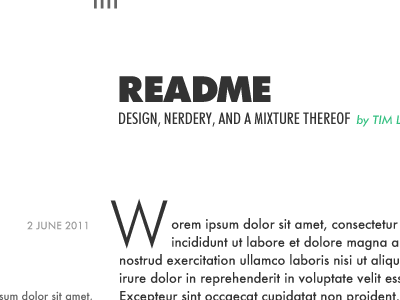 Readme futura typekit in-flight designing
