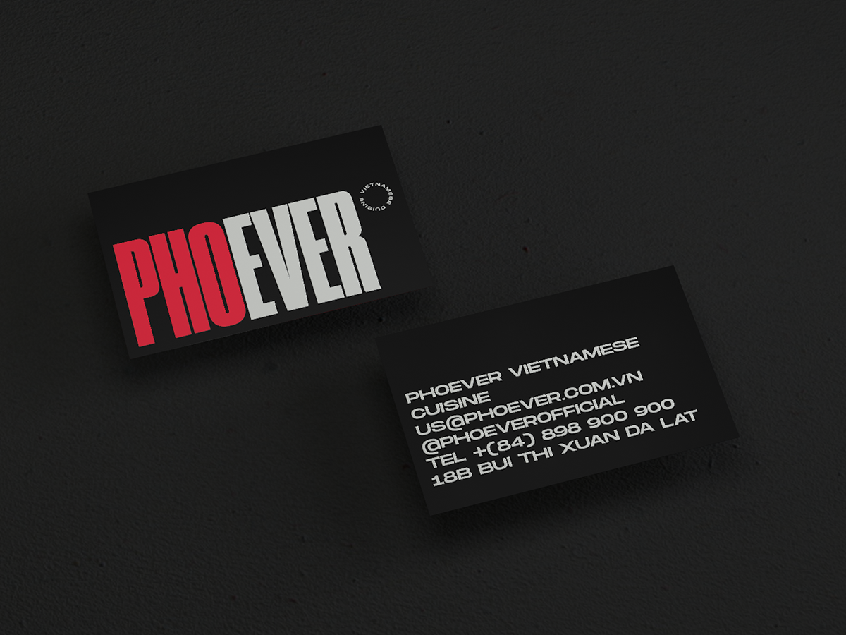 Phoever - Vietnamese cuisine by Tri Tai ♤ on Dribbble