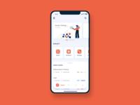 Screen for Edomnia App
