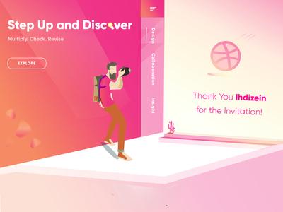 Step Up and Discover - A Gratitude
